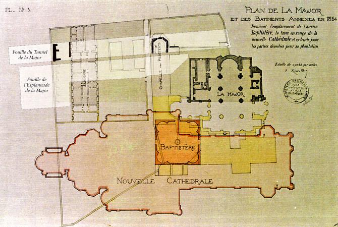 esplanade de la major arch ologie pal ochr tienne inrap. Black Bedroom Furniture Sets. Home Design Ideas