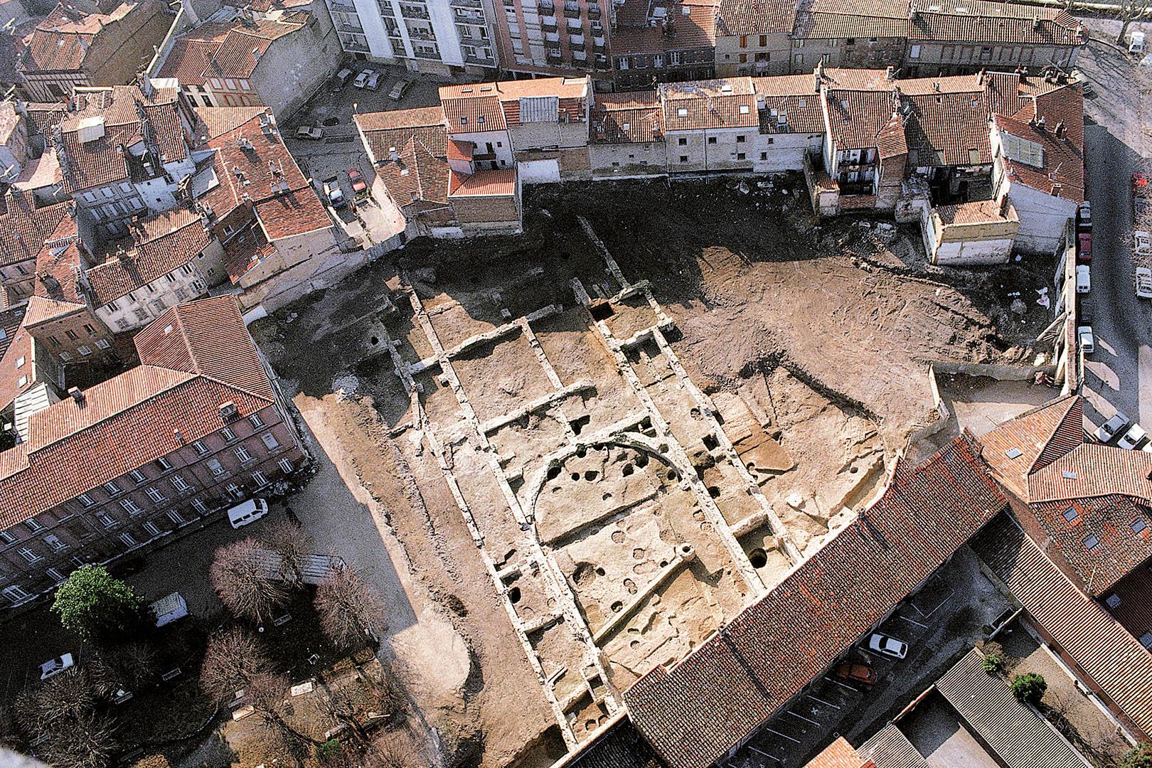 Archéologie de la ville de Toulouse, présentation de l'atlas